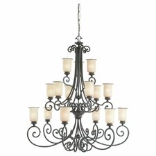 <strong>Sea Gull Lighting</strong> Acadia 15 Light Chandelier