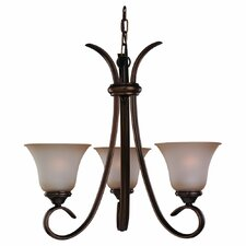 Rialto 3 Light Chandelier