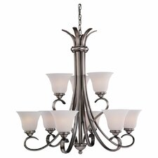 Rialto 9 Light Chandelier