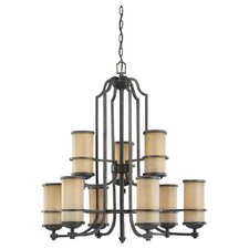 Roslyn 9 Light Chandelier