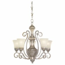 Highlands 5 Light Chandelier with Chain