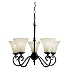 <strong>Sea Gull Lighting</strong> Joliet 5 Light Chandelier