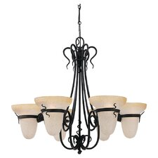 <strong>Sea Gull Lighting</strong> Saranac Lake 6 Light Chandelier