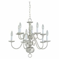 <strong>Sea Gull Lighting</strong> 10 Light Chandelier