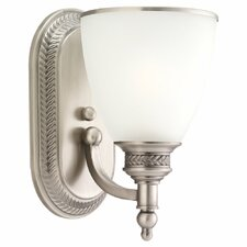 Laurel Leaf 1 Light Wall Sconce