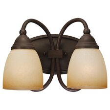 <strong>Sea Gull Lighting</strong> Montclaire 2 Light Wall Sconce
