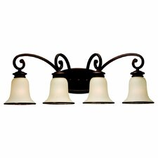 <strong>Sea Gull Lighting</strong> Acadia 4 Light Vanity Light