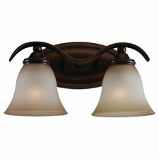 <strong>Sea Gull Lighting</strong> Rialto 2 Light Vanity Light