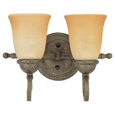 <strong>Sea Gull Lighting</strong> Brandywine 2 Light Vanity Light