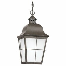 Chatham 1 Light Outdoor Hanging Lantern
