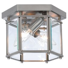 "Bretton 6"" 2 Light Flush Mount"