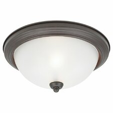 Del Prato 3 Light Flush Mount