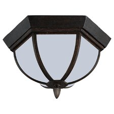 Ardsley Court 2 Light Outdoor Flush Mount
