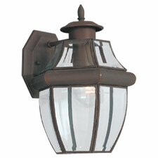 <strong>Sea Gull Lighting</strong> Classic 1 Light Outdoor Wall Lantern