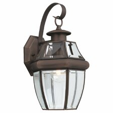 Classic 1 Light Outdoor Wall Lantern