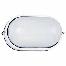 Oval Commercial 1 Light Outdoor Wall Sconce