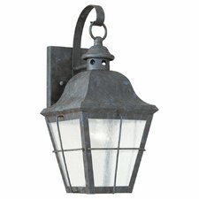 Colonial Styling 1 Light Outdoor Wall Lantern