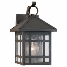 Largo 1 Light Outdoor Wall Lantern