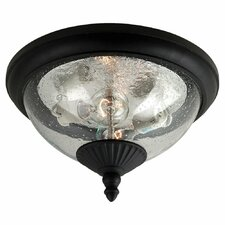 Lambert Hill 2 Light Outdoor Flush Mount