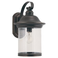 Hermitage 1 Light Outdoor Wall Lantern