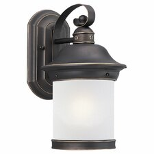 <strong>Sea Gull Lighting</strong> Hermitage 1 Light Outdoor Wall Lantern