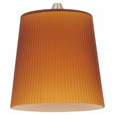 "4.63"" Ribbed Glass Pendant Shade"