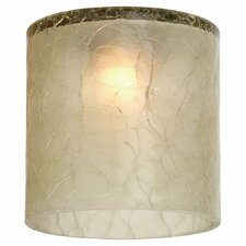 "2.22"" Ambiance Transitions Glass Drum Pendant Shade"