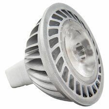6W LED 12V MR16 GU5.3 Lamp, 2700K, 40 degree beam