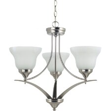 <strong>Sea Gull Lighting</strong> Brockton 3 Light Chandelier
