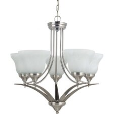 Brockton 5 Light Chandelier