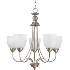 <strong>Sea Gull Lighting</strong> Lemont 5 Light Chandelier