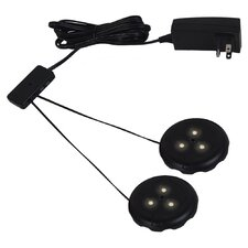 2 Light LED Disk Kit