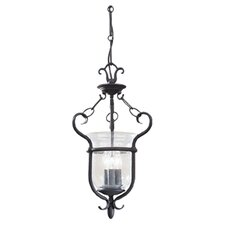 Manor House 3 Light Foyer Pendant