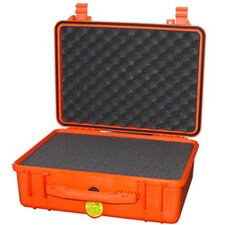 "Watertight case with Foam: 15.44"" x 19.13"" x 7.56"""