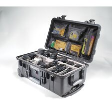 "Carry On Case with Foam: 13.81"" x 22"" x 9"""
