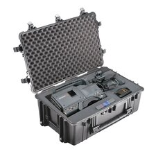 "Equipment Case with Foam: 20.5"" x 30.75"" x 11.63"""
