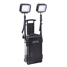 <strong>Pelican Products</strong> 4 Head 12 Volt Battery LED Remote Area Lighting System Lantern