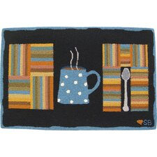 <strong>Susan Branch Home</strong> Cuppa Joe Novelty Rug