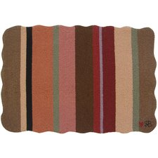 <strong>Susan Branch Home</strong> Yipes Stripes Novelty Rug