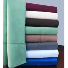 <strong>Simple Luxury</strong> Hem Stitch 600 Thread Count Pillowcase (Set of 2)