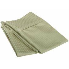 1000 Thread Count Egyptian Cotton Stripe Pillowcase Pair (Set of 2)