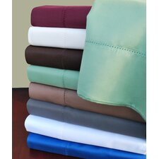 Classic Hemstitch Cotton Rich 600 Thread Count Sheet Set