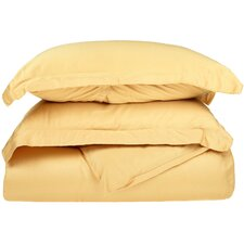 300 Thread Count Egyptian Cotton Solid Duvet Cover Set