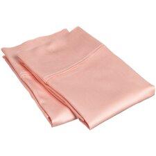 Gia 300 TC Egyptian Cotton Solid Pillowcase Pair (Set of 2)