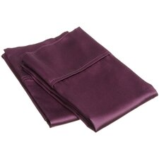 300 Thread Count Egyptian Cotton Solid Pillowcase Pair (Set of 2)