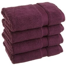 Superior 900 GSM Egyptian Cotton 4-Piece Hand Towel Set