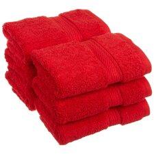 Superior 900 GSM Egyptian Cotton Face Towel Set (Set of 6)