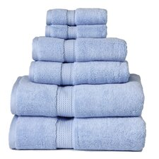 Superior 900GSM Egyptian Cotton 6 Piece Towel Set