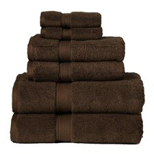 Superior 900GSM Egyptian Cotton 6 Piece Towel Set