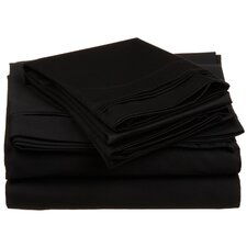 650 TC Egyptian Cotton Solid Sheet Set